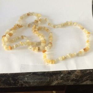 New natural stone necklace